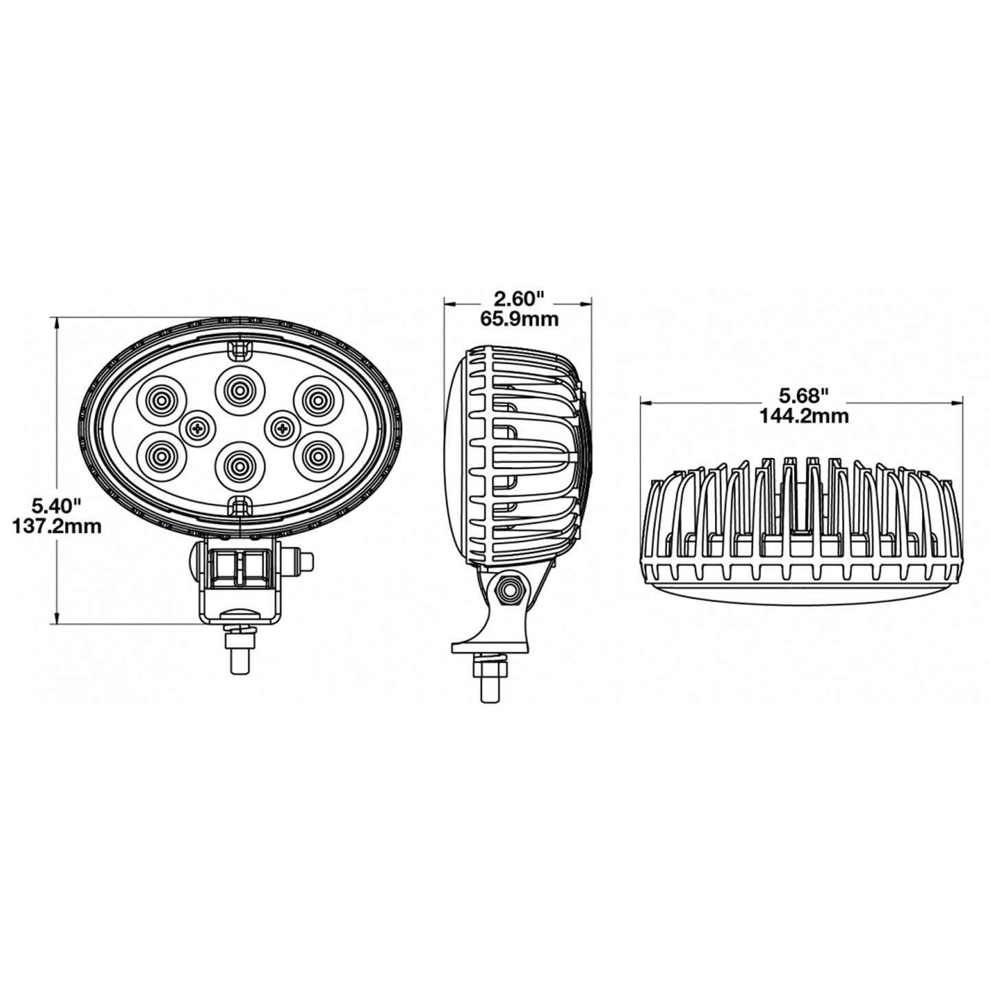 LED Work Light - Model 735