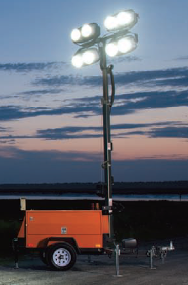 Mobile LED Light Tower