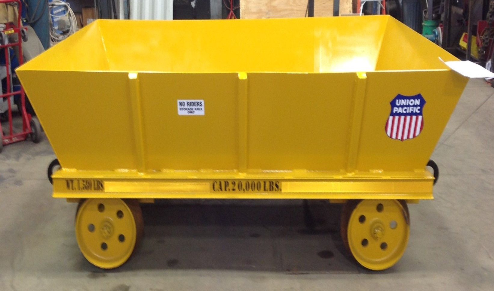 Scrap Hopper Cart