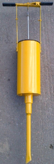 Tie Plugging - Sure Spike Applicator