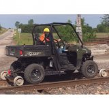 UTV on Hyrail